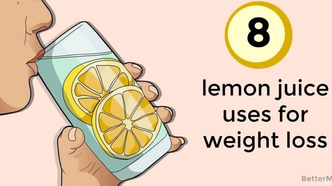 Lemon Juice Uses For Weight Loss