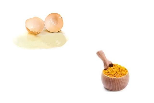 Turmeric and Egg White