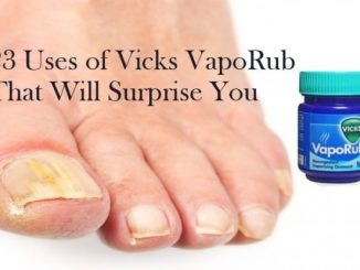 Uses of Vicks VapoRub