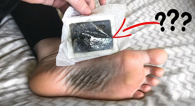 How to make detox foot pads at home