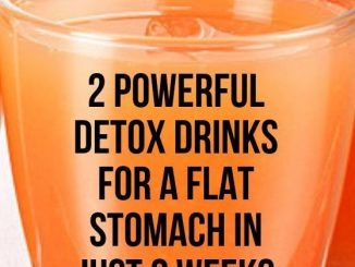 Here are 2 powerful natural detox drinks for a flat stomach in 2 weeks that you can make at home using very few ingredients! If you have been trying to get rid of stomach fat, the following recipes will help you accomplish your goal in just 2 weeks.