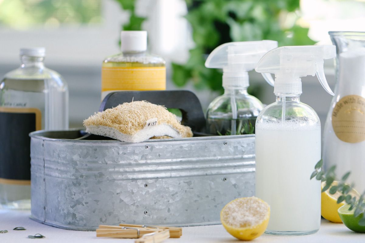 Cleaning of The House Without Chemicals