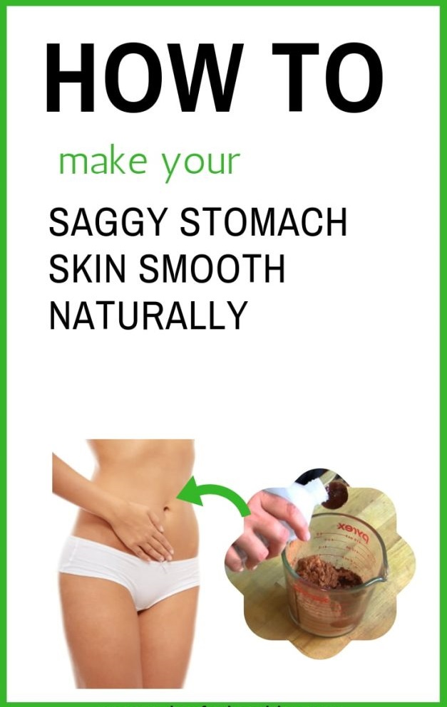 Make Saggy Stomach Skin