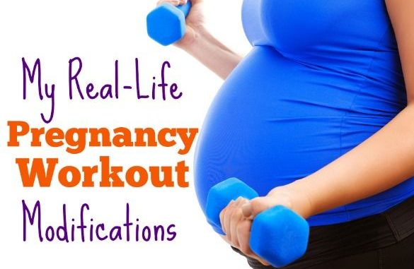 What Pregnancy Workout Modifications Look Like