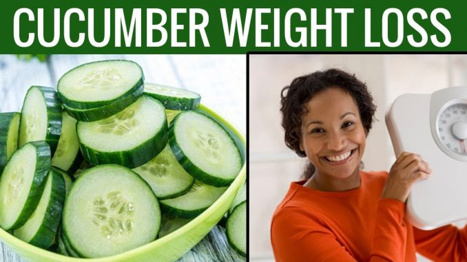 THE CUCUMBER DIET – LOSE 15 POUNDS IN 7 DAYS ONLY