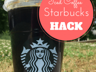 Starbucks HACK: Save 57% on Every Iced Coffee Order